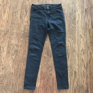 American Eagle Outfitters Jeans - American Eagle high rise faded black jeans